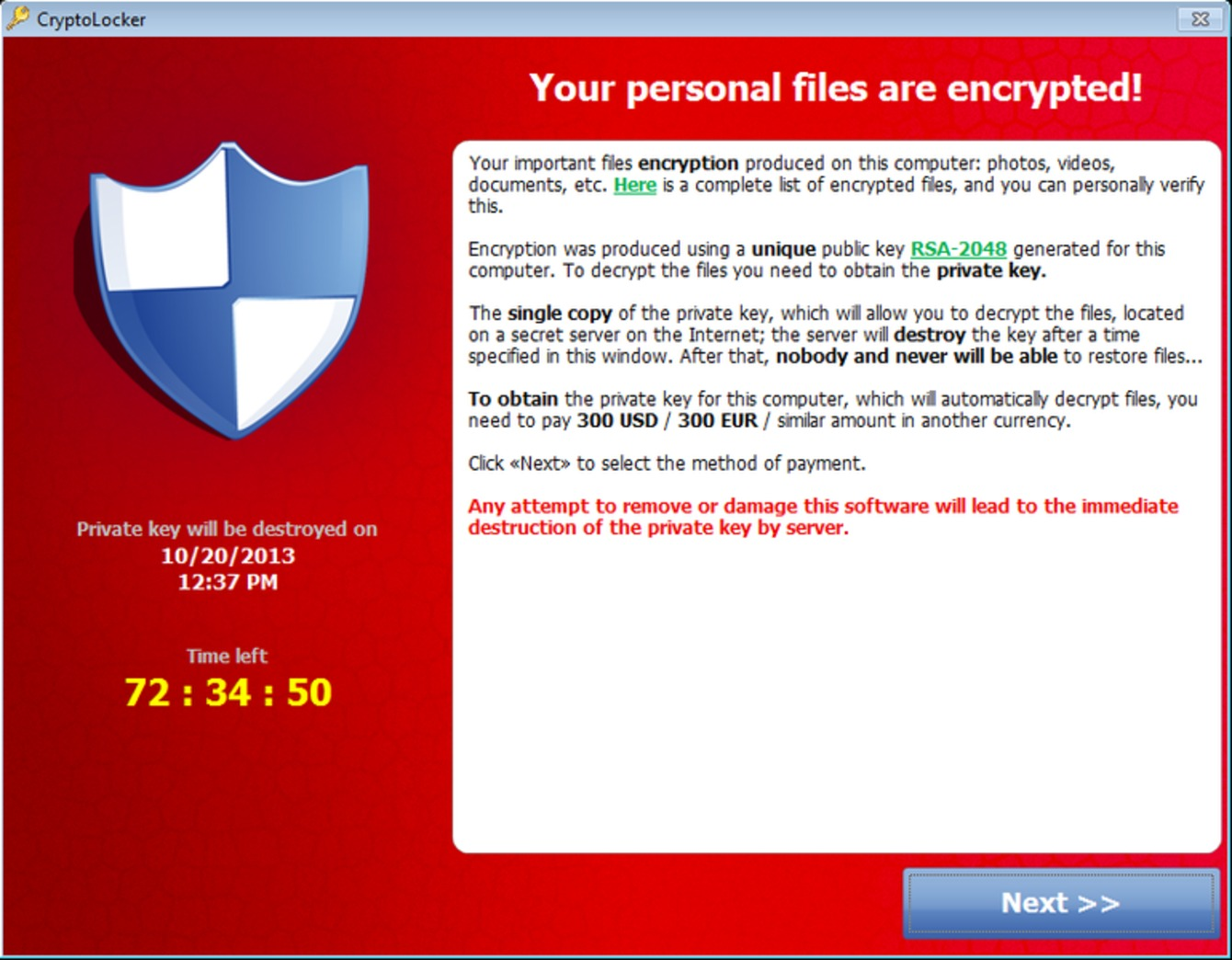 Ransomware How To Get Protected Against Crytolocker