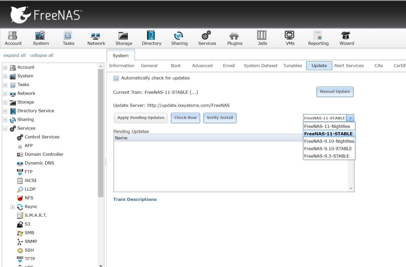 Freenas 11: le novità della nuova versione e qualche accenno