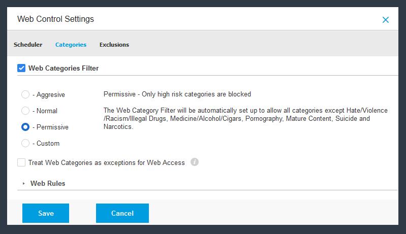 Managed antivirus according to Bitdefender