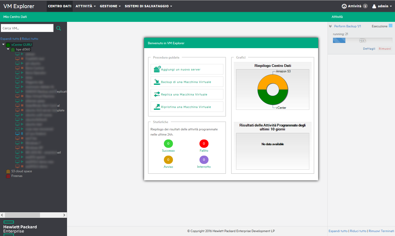 VM Explorer: the new tool by HP Enterprise for VMware vSphere and